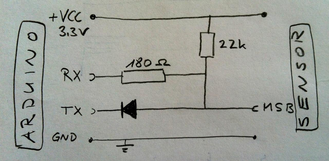 Single wire half duplex communication possible without additional ...