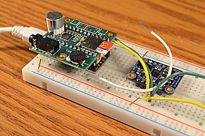 I2S audio output and problems w/ I2C IMU