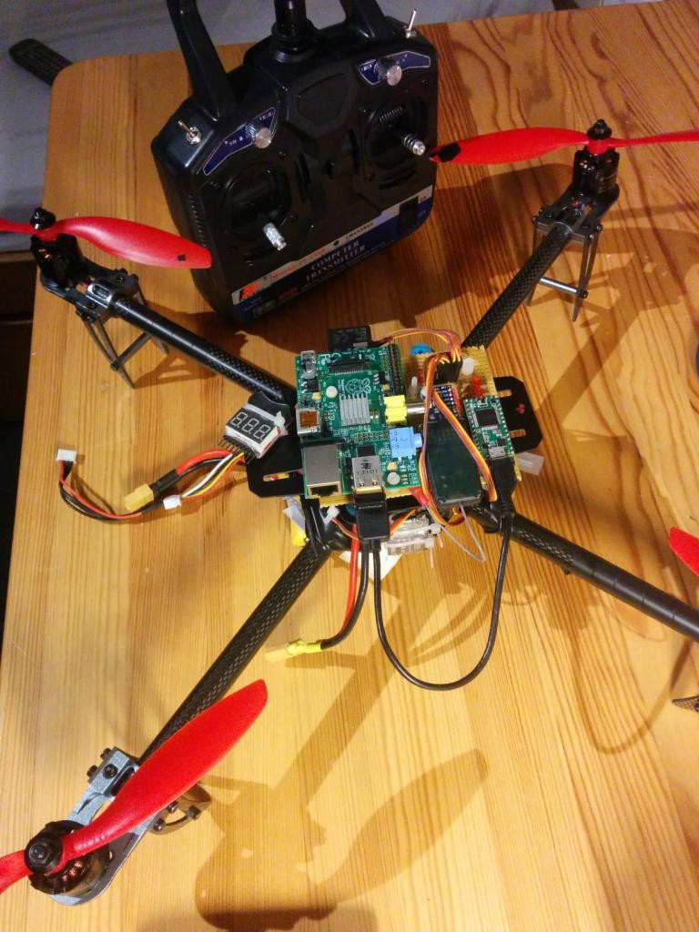 Teensy 3 1 FlightController Quadcopter Mavlink