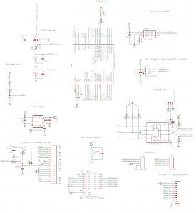 Modbus RTU recessed thermostat