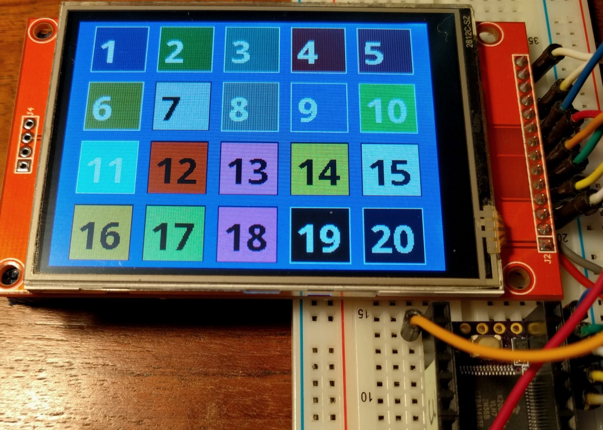 ILI9341 and XPT2046 for Teensy Touchscreen 320x240 display - Page 3