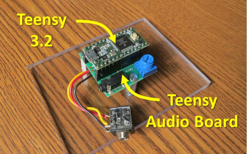 Real-Time Audio Processing with Teensy Audio Board