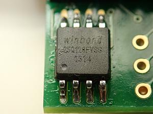 Click image for larger version.  Name:W25Q128FV Chip.jpg Views:1 Size:113.0 KB ID:17453