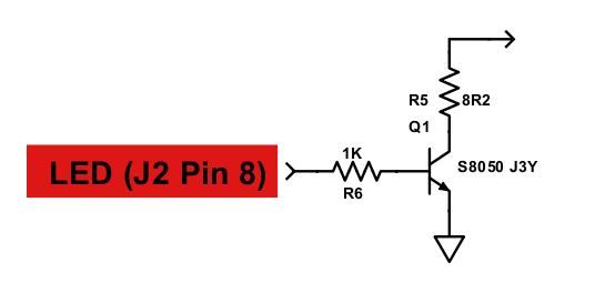 "2.8"" TFT color display LED control circuit"