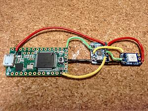 Click image for larger version.  Name:Teensy3.1 plus levelshifter plus APA102.jpg Views:855 Size:192.1 KB ID:4807