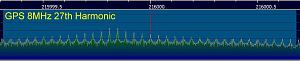 Click image for larger version.  Name:GPS 8MHz 27th Harmonic 01.jpg Views:18 Size:25.8 KB ID:16389