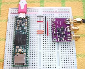 Click image for larger version.  Name:Si5351 Board.jpg Views:16 Size:193.0 KB ID:20603