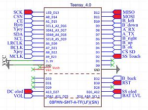 Click image for larger version.  Name:Teensy conections.jpg Views:10 Size:165.1 KB ID:22029