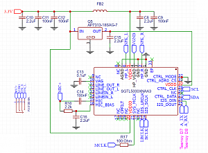 Click image for larger version.  Name:Teensy Audio Schematic.png Views:25 Size:128.2 KB ID:21059