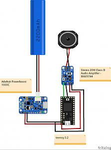 Click image for larger version.  Name:ZW pv0.2.1 basic test teensy and 1 amp_bb.jpg Views:84 Size:59.7 KB ID:20237
